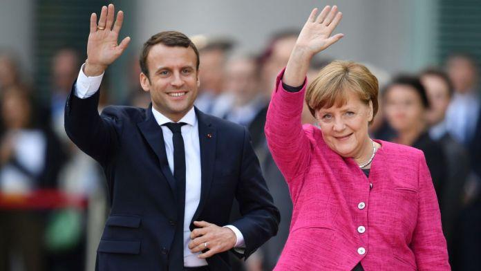 President Macron, Merkel