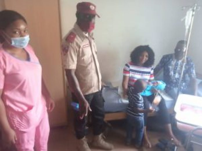 FRSC rescues pregnant woman in labour pain