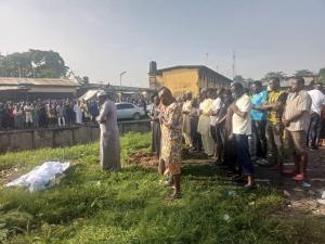 19-year-old flood victim buried near Canal at Surulere, Lagos