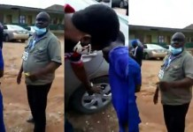 Police arrest Ogun COVID-19 official assaulting woman over N15,000 in viral video