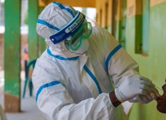 Nigeria's total COVID-19 cases hit 44,433 as NCDC announces 304 new infections
