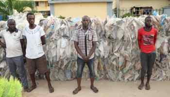 Task Force intercepts truck with 174 bags of cannabis in FCT