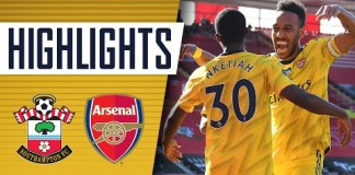 HIGHLIGHTS | Southampton 0-2 Arsenal | Premier League | June 25 ...