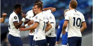 Michael Keane own goal gives Tottenham win over Everton