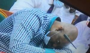 Acting Managing Director NDDC, Daniel Pondei has collapsed in the ongoing house committee public hearing on NDDC.