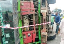 How truck killed 2 undergraduates in Ekiti State