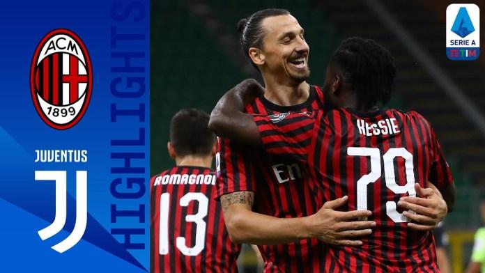 Milan 4-2 Juventus | Rebic Leads Rapid Recovery To Stun Serie A ...