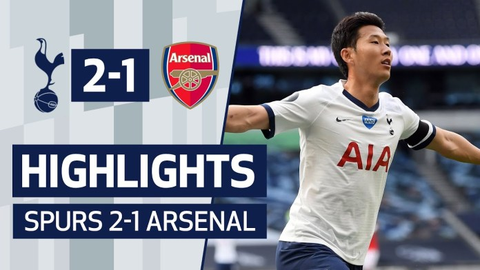 HIGHLIGHTS | SPURS 2-1 ARSENAL | SON & ALDERWEIRELD SEAL DERBY DAY ...