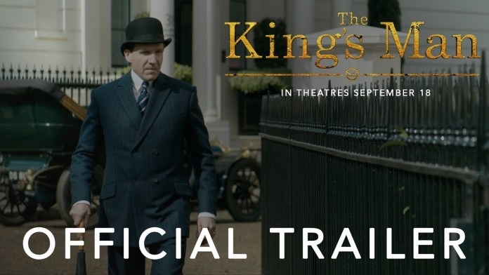THE KING'S MAN | OFFICIAL TRAILER | IN THEATRES SEPTEMBER 18 - YouTube