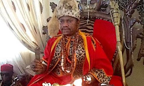 Anambra monarch suspension