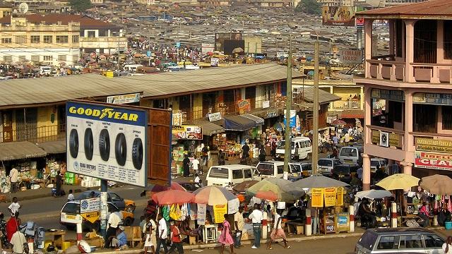 Nigerian traders in Ghana
