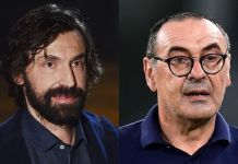 Andrea Pirlo replaces sacked Sarri at Juventus
