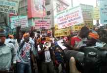 Photo Story: RevolutionNow protest currently ongoing in Nigeria