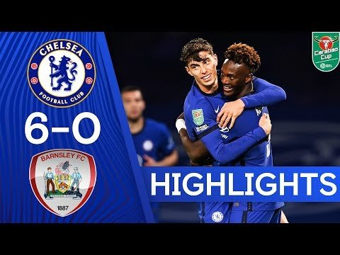 Chelsea 6-0 Barnsley | Havertz Hat-Trick and Silva Debut As Blues Hit 6! | Carabao Cup Highlights - Ghana Latest Football News, Live Scores, Results - GHANAsoccernet