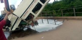 Ebonyi Bus Plunge