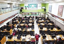 Nigerian Stock market capitalisation grows by N419bn in one month