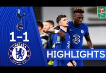 Tottenham Hotspur 1-1 Chelsea (5-4 pens) | Carabao Cup Highlights - YouTube
