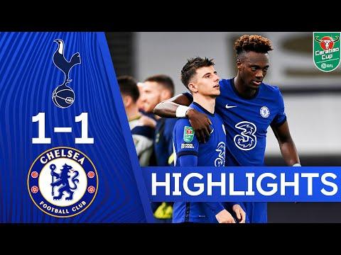 Tottenham Hotspur 1-1 Chelsea (5-4 pens) | Carabao Cup Highlights - YouTube