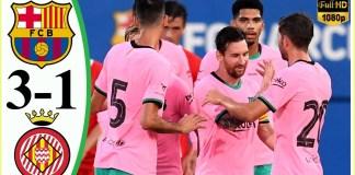 Barca vs Girona 3–1 - Extеndеd Hіghlіghts & All Gоals 2020 HD - YouTube