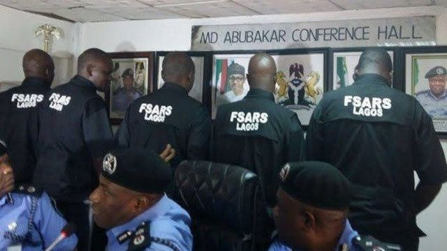 SARS and SWAT as a metaphor for a failed government