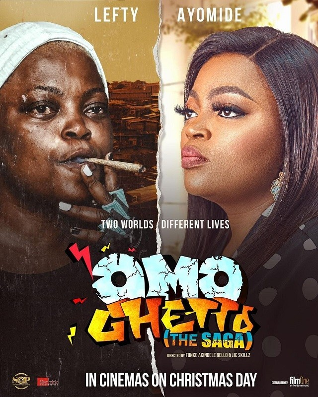 "OMO GHETTO (The Saga) will be showing in all cinemas nationwide from CHRISTMAS  DAY"" - Funke Akindele reveals"