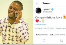 Laycon Congratulate Fan base As He Gets Verified On Twitter