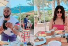 Checkout Beautiful Honeymoon Photos Of Nollywood Actor Williams Uchemba And Wife