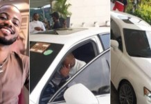 Excitement As Korede Bello Gifts Manager Brand New Lexus As Birthday Gift
