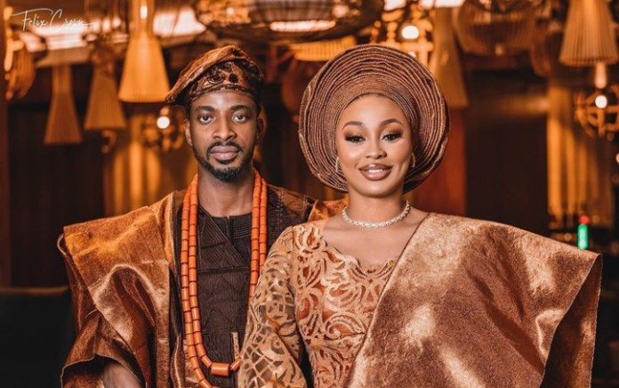 Singer Nice Marks 1st Wedding Anniversary With Wife