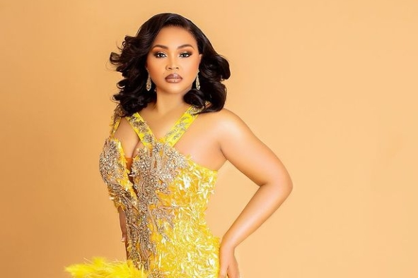 Actress Mercy Aigbe Stuns In New Photo As She Clocks A New Age