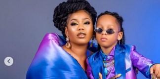 Toyin Lawani Pens Beautiful Words To Son As She Celebrate His Birthday