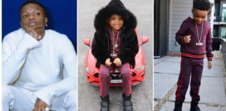 Wizkid's 2nd Son Ayo Celebrates 5th Birthday