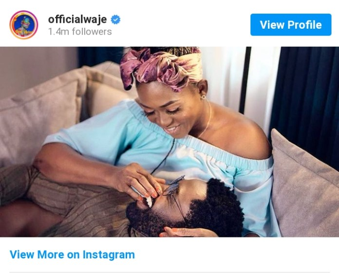 Congratulatory Wedding Messages Pour In As Waje And Ric Hassani Were Spotted In Loved Up Photo