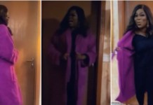 Actress Funke Akindele Refuses To Unclad As She Jumps On The Silhouette Challenge