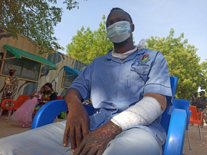 Injured Soldiers: We'll continue to fight Boko Haram until...