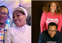 Singer, Tope Alabi's Hubby Showers Sweet Words On Her On Val's Day