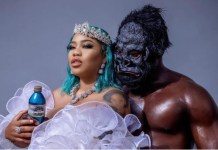 Segun Wealth Engage Toyin Lawani On Valentine's Day