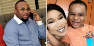 Olakunle Churchill Prays For Tonto Dikeh On Son's Birthday