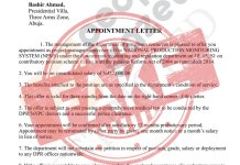 DPR disown fake appointment letter of Bashir Ahmad