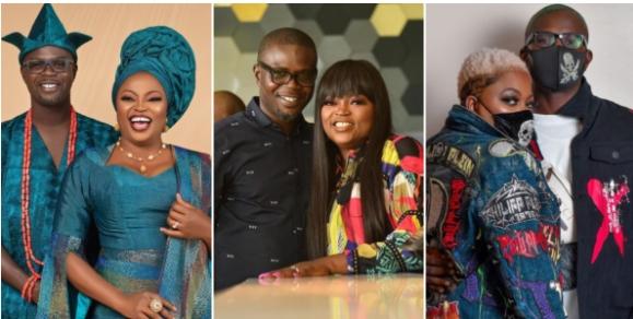 Actress Funke Akindele Celebrate Husband JJC Skillz On His Birthday