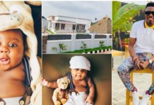 Comedian MC Edo Pikin Dedicates New House To His Son