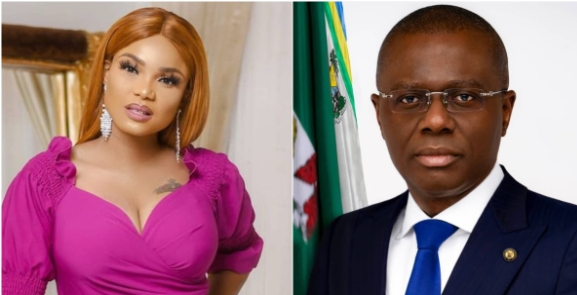 Actress Iyabo Ojo Cries Out To Sanwo-Olu Over COVID-19 Restrictions, Says They Are Running Into Debt