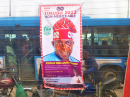 Change 2.0: Tinubu's Posters Flood Abuja As 2023 Presidential Race Hots Up