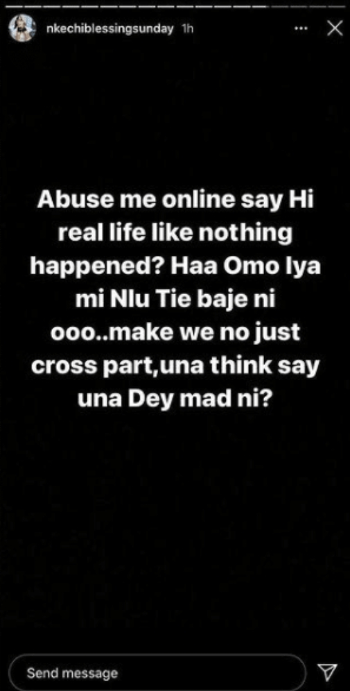 Nkechi Blessing Gives Stern Warning Over Seyi Shay And Tiwa Savage's Fight