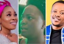 See Yinka Alaseyori's Reaction As Lanre Teriba Shades Tope Alabi