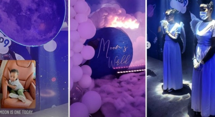 Checkout Photos From Regina Daniels Son's First Birthday Party