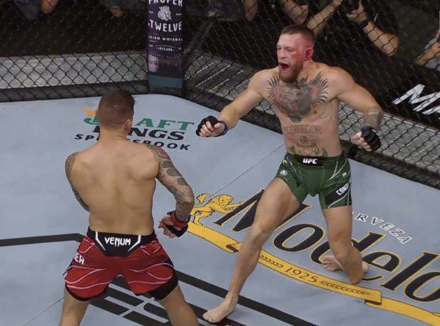 McGregor Suffers UFC Main Event Loss With Nasty Ankle Injury