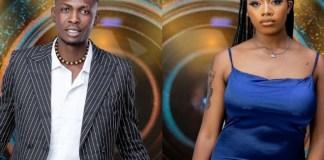 BBNaija 2021: A New 'Ship' Found As Angel, Sammie Give Couple Vibes