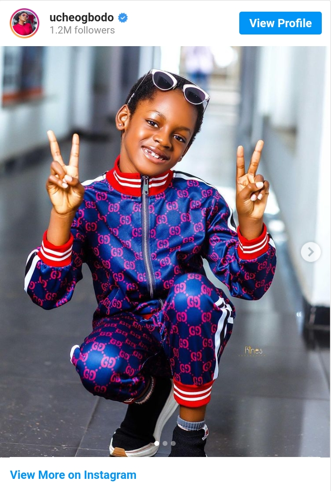 You Shielded Me From A Mighty Storm-Uche Ogbodo Celebrates Daughter @7