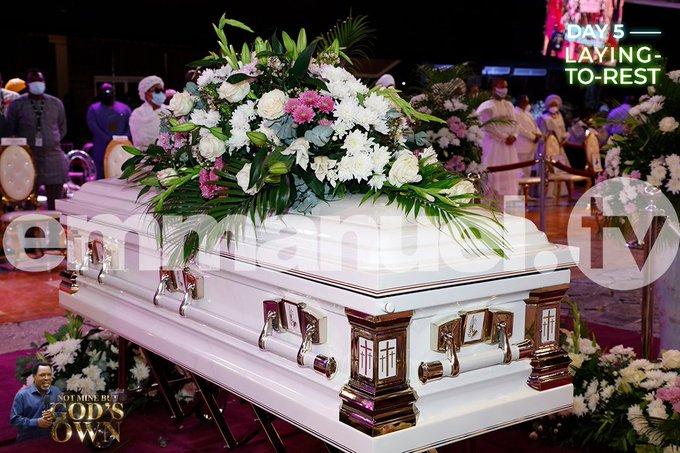 Prophet TB Joshua Buried In Lagos